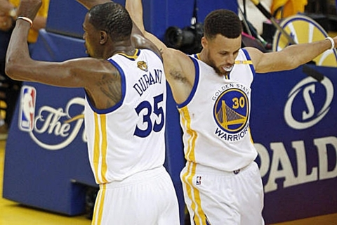 Kevin Durant i Steph Curry