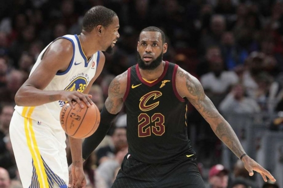 Kevin Durant i LeBron James