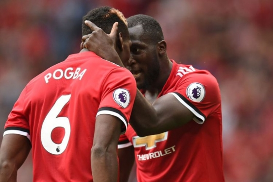 Pogba i Lukaku (Man. United)